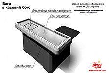 НОВИНКА !!! Весы в кассовый бокс производства завода весового оборудования Весы Аксис Украина
